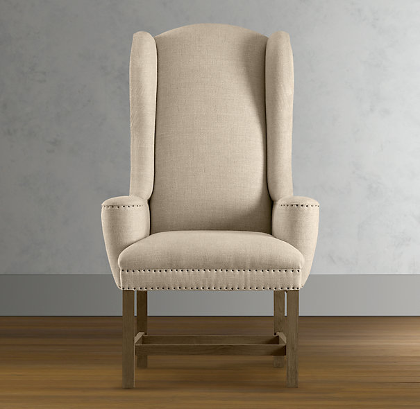 Wing dining chair jacqueline hostess wing back for Wing back dining chairs